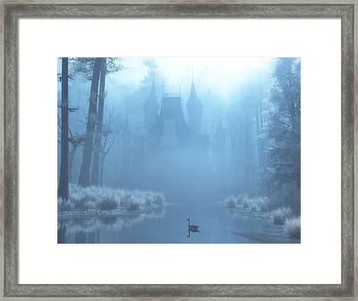 Winter In Blue Framed Print by Melissa Krauss