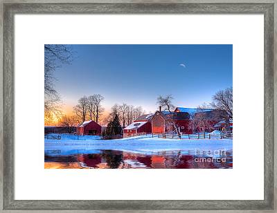 Winter In New England Framed Print by Michael Petrizzo