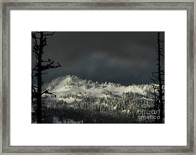 Winter In North Cascades Framed Print