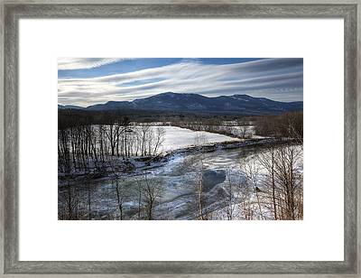 Winter In North Conway Framed Print
