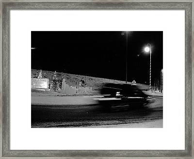 Framed Print featuring the photograph Winter In North Pole by Tara Lynn