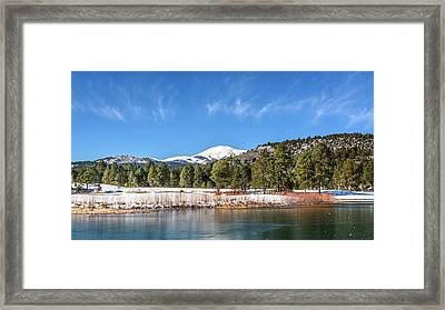 Winter In Ruidoso Framed Print