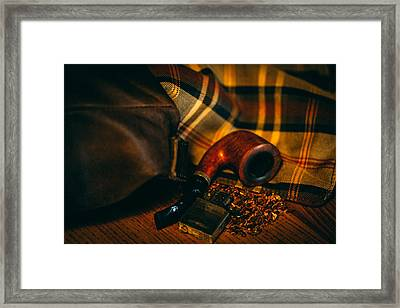 Winter In The Air Framed Print by Cesare Bargiggia