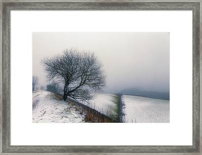 Winter In The Peaks No 6 Framed Print