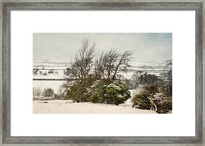 Winter In The Valley. Framed Print by ShabbyChic fine art Photography