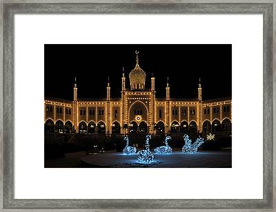 Winter In Tivoli Gardens Framed Print