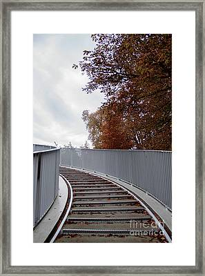 Winter Is Around The Corner Framed Print
