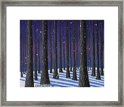 Winter Is Coming 01 Framed Print