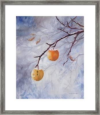 Winter Jewels Framed Print