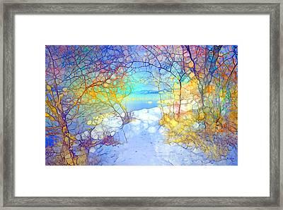 Winter Joy Framed Print