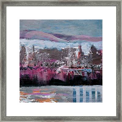 Winter Kaddish Framed Print