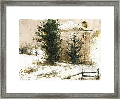 Winter Framed Print by Kristina Vardazaryan