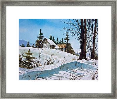 Winter Landscape Framed Print by James Williamson