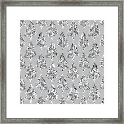 Winter Leaves- Art By Linda Woods Framed Print by Linda Woods