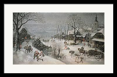 Valckenborch Lucas Van Framed Prints