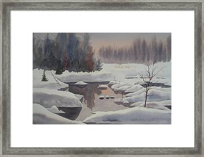 Winter Magic Framed Print by Debbie Homewood