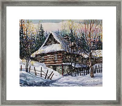 Winter Magic II  Framed Print