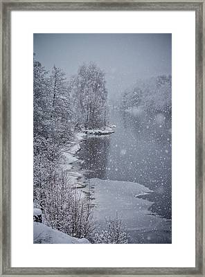 Winter Magic Framed Print by Mirra Photography