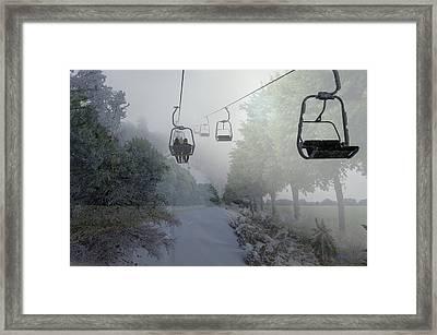 Winter Meets Spring Framed Print