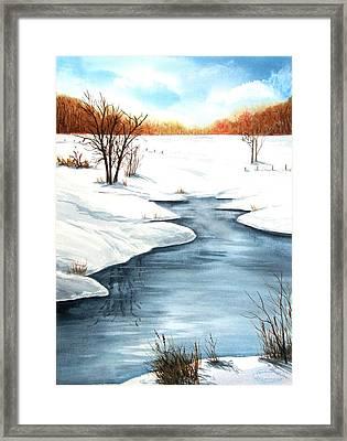 Winter Memories Framed Print by Sharon Steinhaus