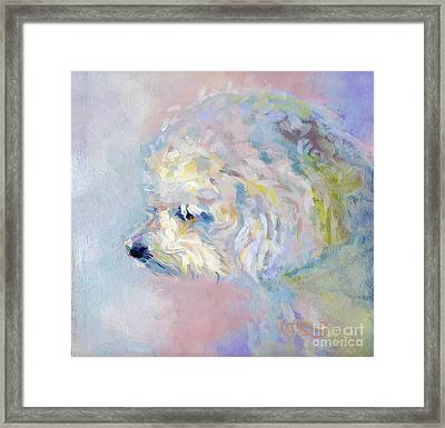 Winter Mickee Framed Print