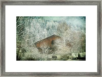 Winter Mood Framed Print