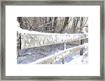 Winter Morning Framed Print by Thomas R Fletcher