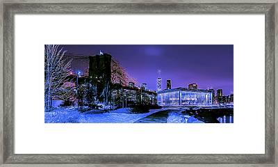 Winter Night Framed Print