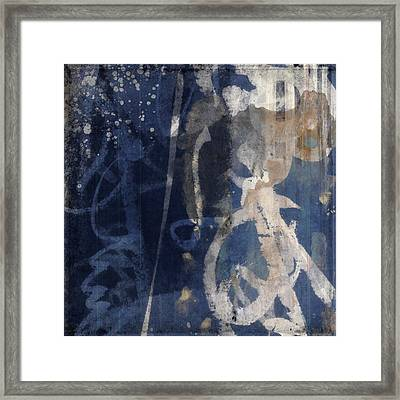 Winter Nights Series Three Of Six Framed Print by Carol Leigh