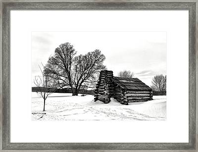 Winter Of Hope And Sorrow  Framed Print