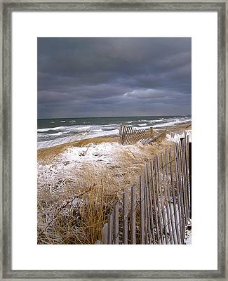 Winter On Cape Cod Framed Print