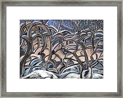 Winter Orchard Framed Print by Grace Keown