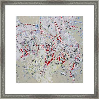 Winter Orchard  Sold Framed Print by Ray  Petersen