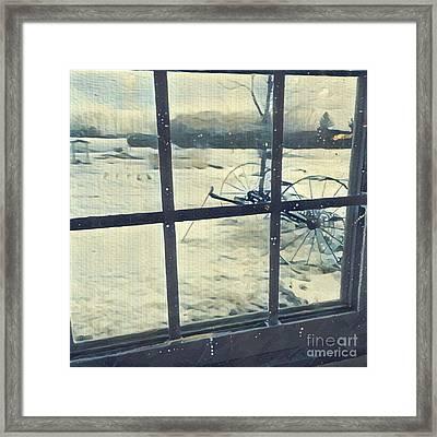 Winter Outside Framed Print