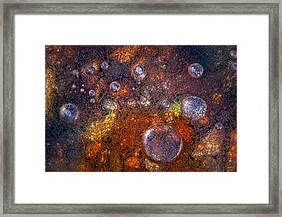 Winter Over Autumn Framed Print by Paolo Giudici