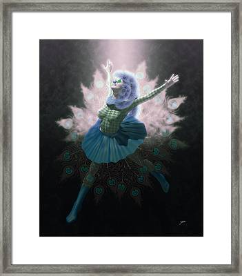 Winter Pierrette Framed Print by Joaquin Abella