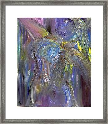 Winter Queen Framed Print by Karen L Christophersen