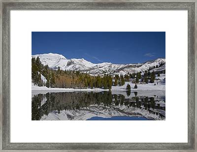 Winter Refelctions Framed Print by Mark Smith
