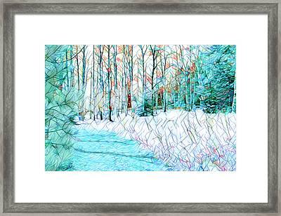 Winter Reflections Framed Print