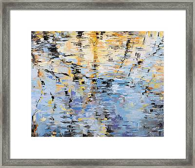 Winter Reflections Framed Print by Mike Moyers