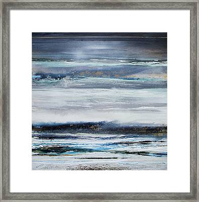 Winter Rhythms Redesdale Blue Series 2009 Framed Print by Mike   Bell
