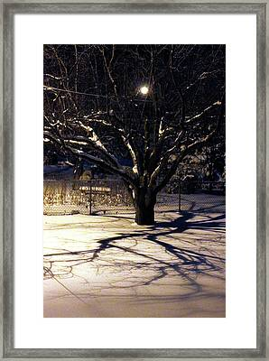 Winter Romace Framed Print by Samantha Thome