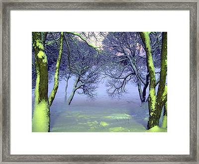 Winter Scene 2 Framed Print by Sami Tiainen
