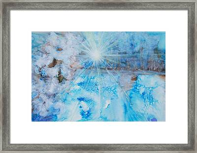 Winter Scene Framed Print by Tara Thelen