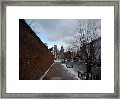 Winter Skies Framed Print by Brynn Ditsche