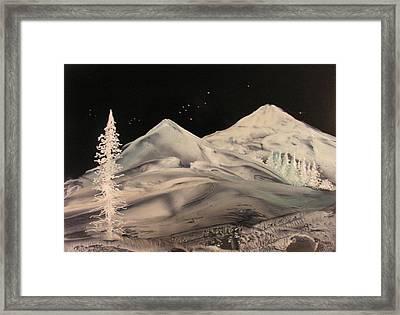 Winter Slumber Framed Print by John Vandebrooke