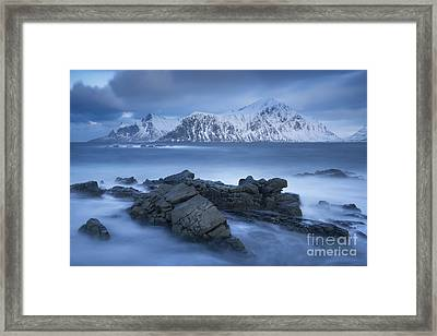 Winter Smoke Framed Print by Timm Chapman