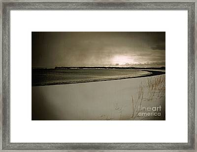 Framed Print featuring the photograph Winter Solitude by Alana Ranney