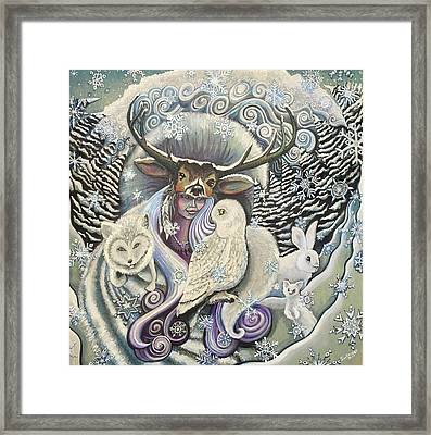 Winter Solstice Framed Print