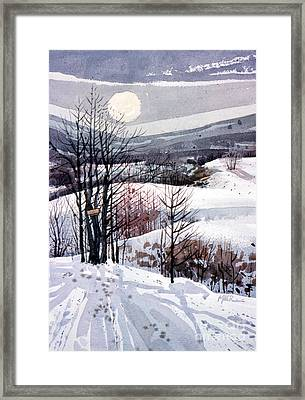 Winter Solstice Framed Print by Donald Maier